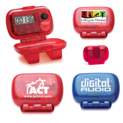 Young Bowling and Trophy Supply, Innovation Line Promotional Items Pedometers
