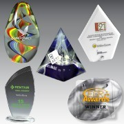Young Bowling and Trophy Supply, Innovation Line Acrylic Awards